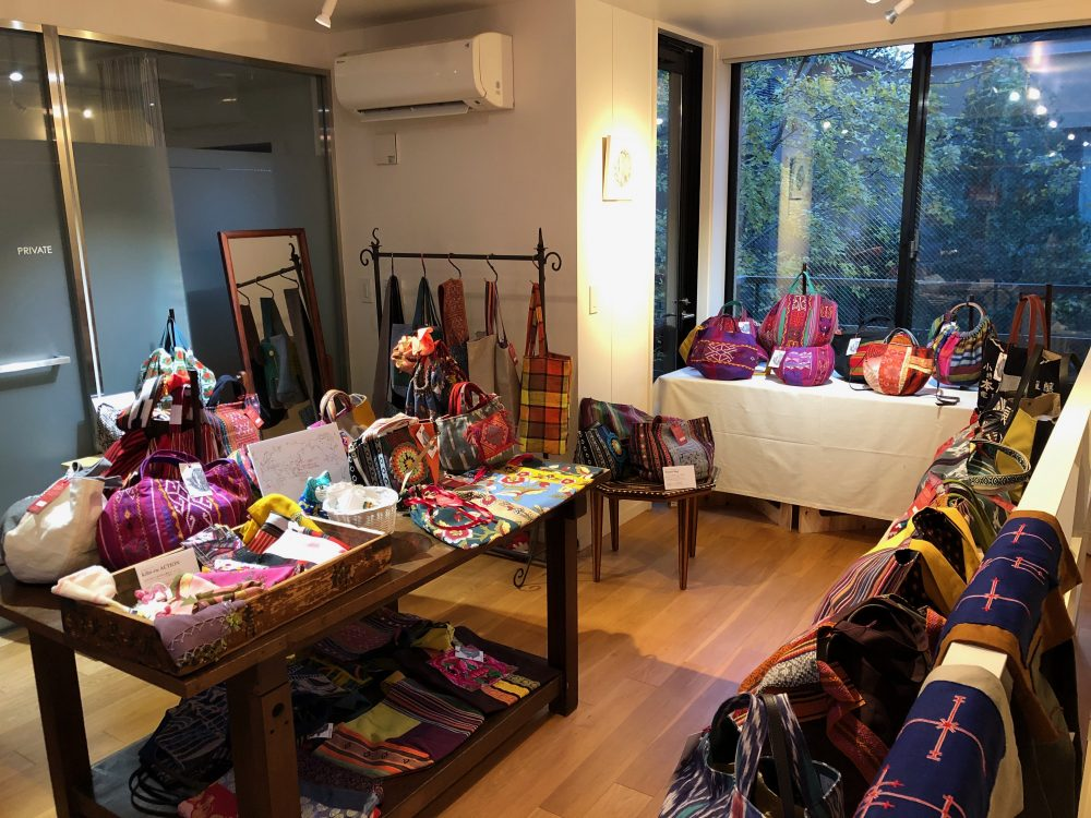 kibi-ru ACTIONバッグ展 交わるアジアの布