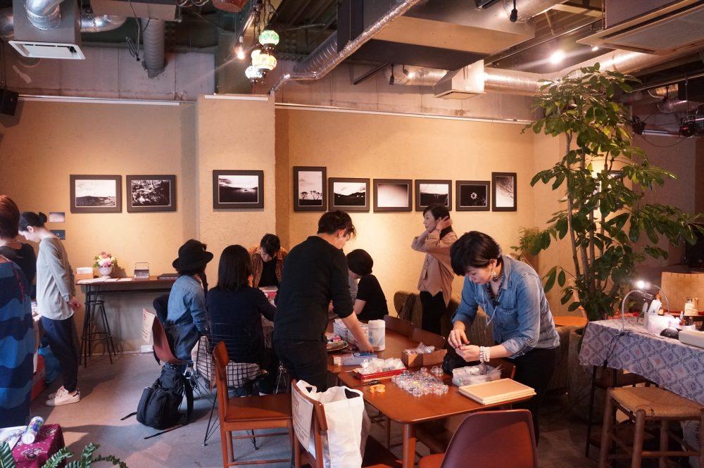 東京錦糸町シルクロードカフェ店内(きびるアクション)