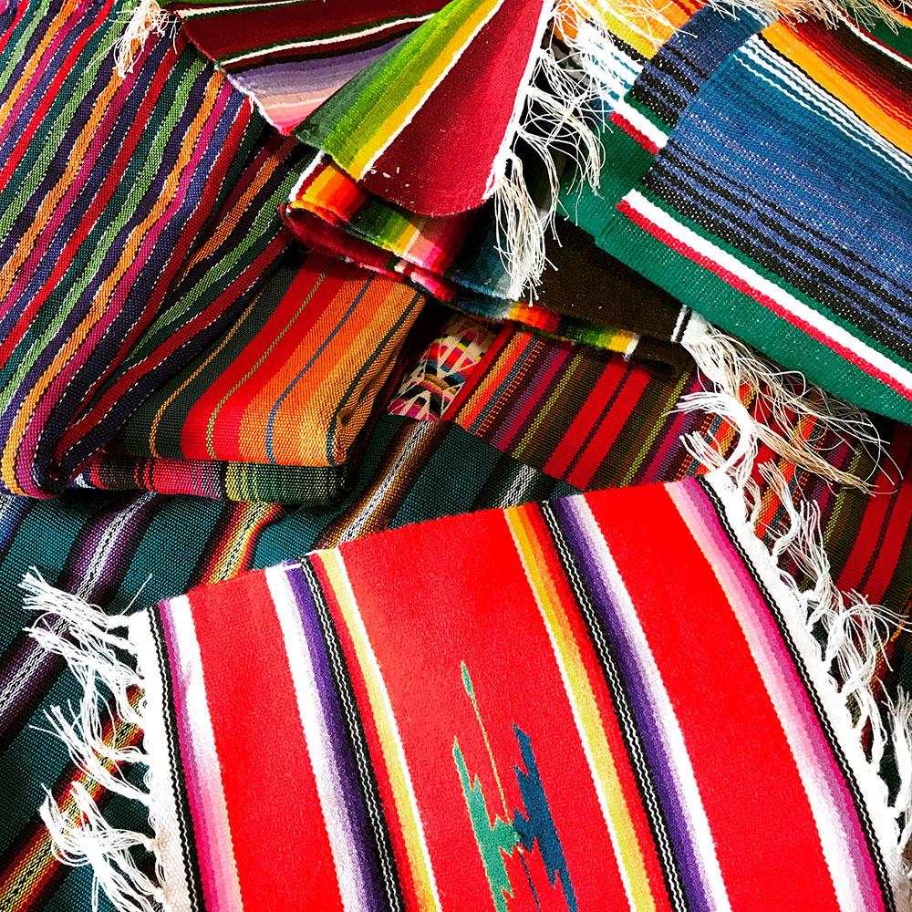 所沢大人エスニックバッグ kibiru action ペルーの生地