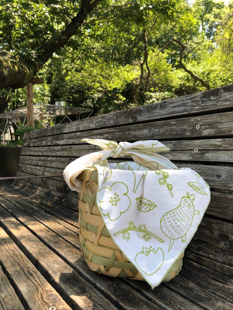 情報解禁!武蔵野樹林パーク内にあるカフェで使用されるバスケットをコーディネート